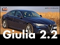 2016 Alfa Romeo Giulia 2.2 Diesel | Test & Review | 2017 | Full Review & Drive Test | Cars | English