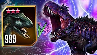 MAX LVL 999 INDORAPTOR VS WORLD BOSS OMEGA 09! - Jurassic World - The Game - *WORLD EVENT* HD