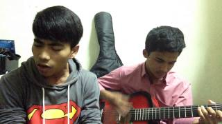 Akim & The Majistret - Potret ( cover by Namie Smy and Faez Farhan )
