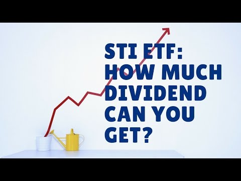 STI ETF Dividend Yield - How Much Does It Gives?