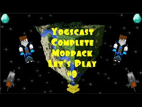 Yogscast Complete Modpack Let's Play Episode 9 -Burn Baby Burn!