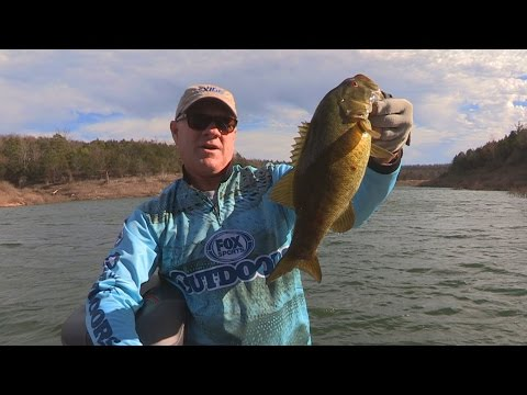 FOX Sports Outdoors SouthWEST #7 - 2016  Bull Shoals Lake, Arkansas Smallmouth Bass Fishing