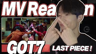 eng) GOT7 'Last Piece' MV Reaction | Korean Dancer Reacts | Fanboy Moments | J2N VLog