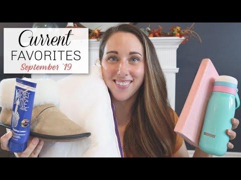 Current Lifestyle Favorites | September 2019 thumbnail