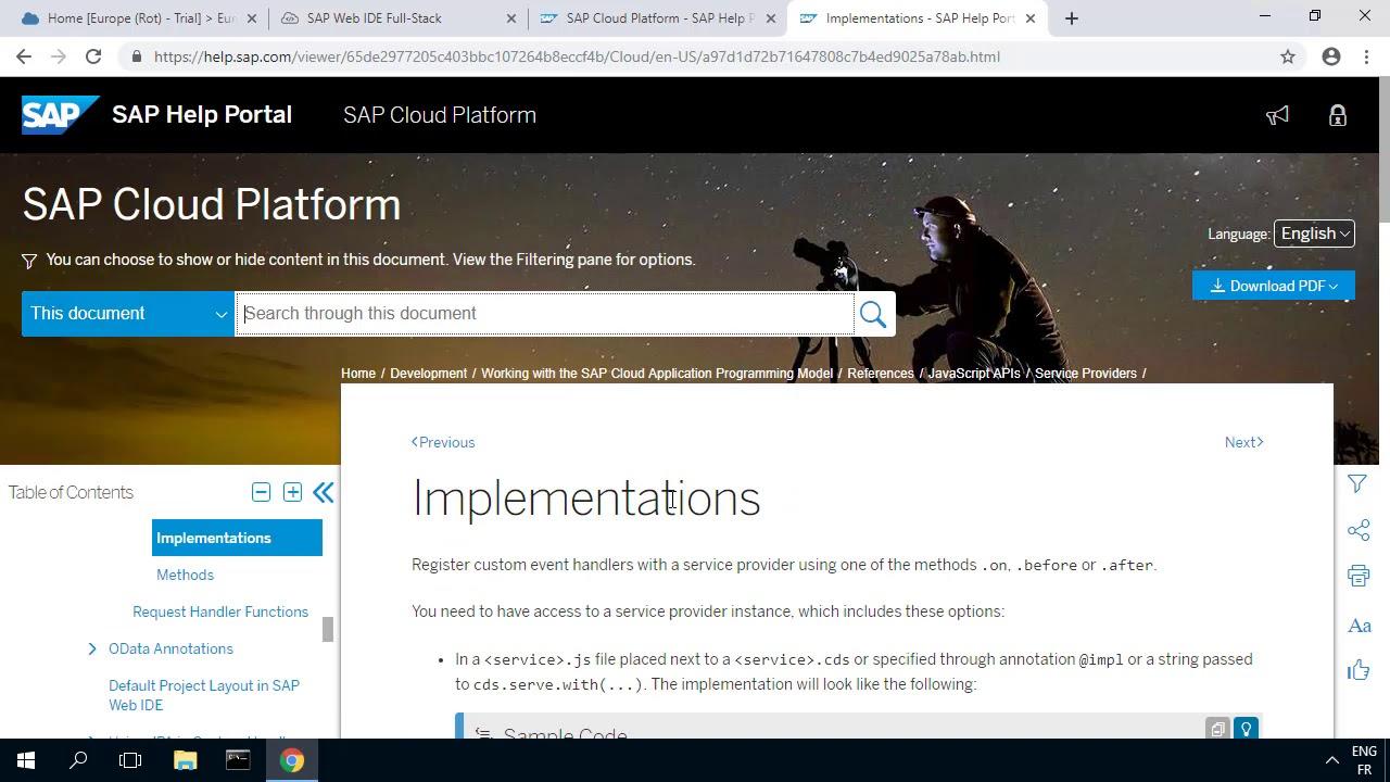 SAP HANA Academy - SAP CP MT: 21  Discriminator Column - Adapt and Deploy