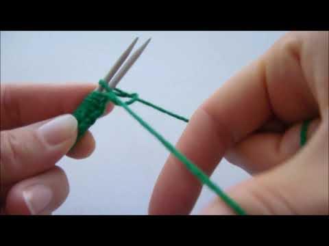 Вязание спицами для левшей для начинающих видео уроки