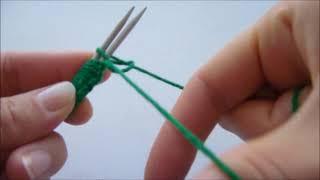 Вязание для левшей: как набрать петли