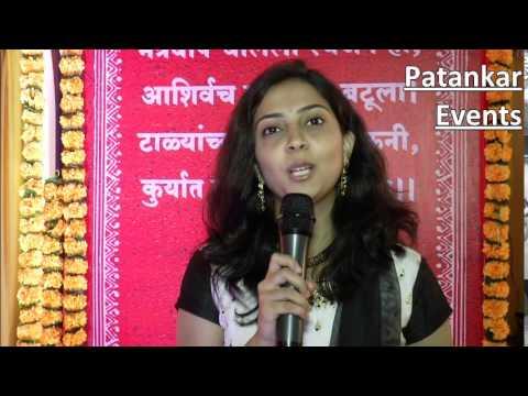 Anita Kulkarni at an event Govind Garden Banquet, Pune.