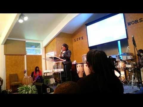 Part 5 CoPastor Christine Woods Preaching! !
