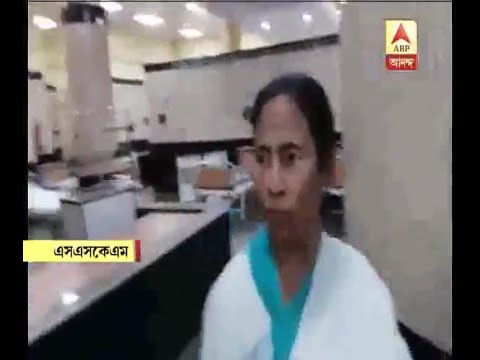 CM's surprise visits to SSKM, and Bangur Institute of Neurosciences: Watch