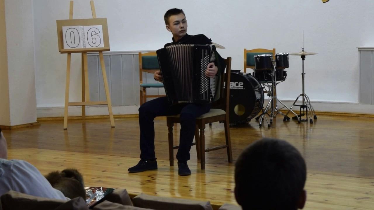 брамс венгерский танец 5 ноты для аккордеона