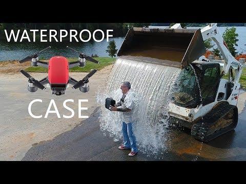 KEN HERON - DJI Spark Case - EXTREME Waterproof Test