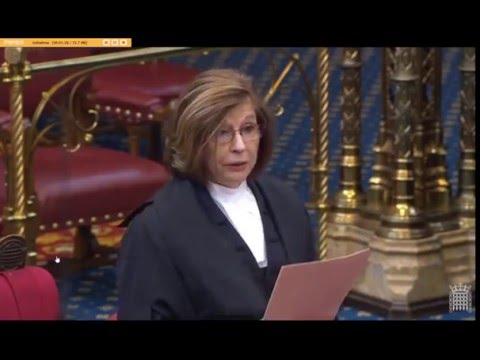 House of Lords:  A  kind way of saying you are nuts...