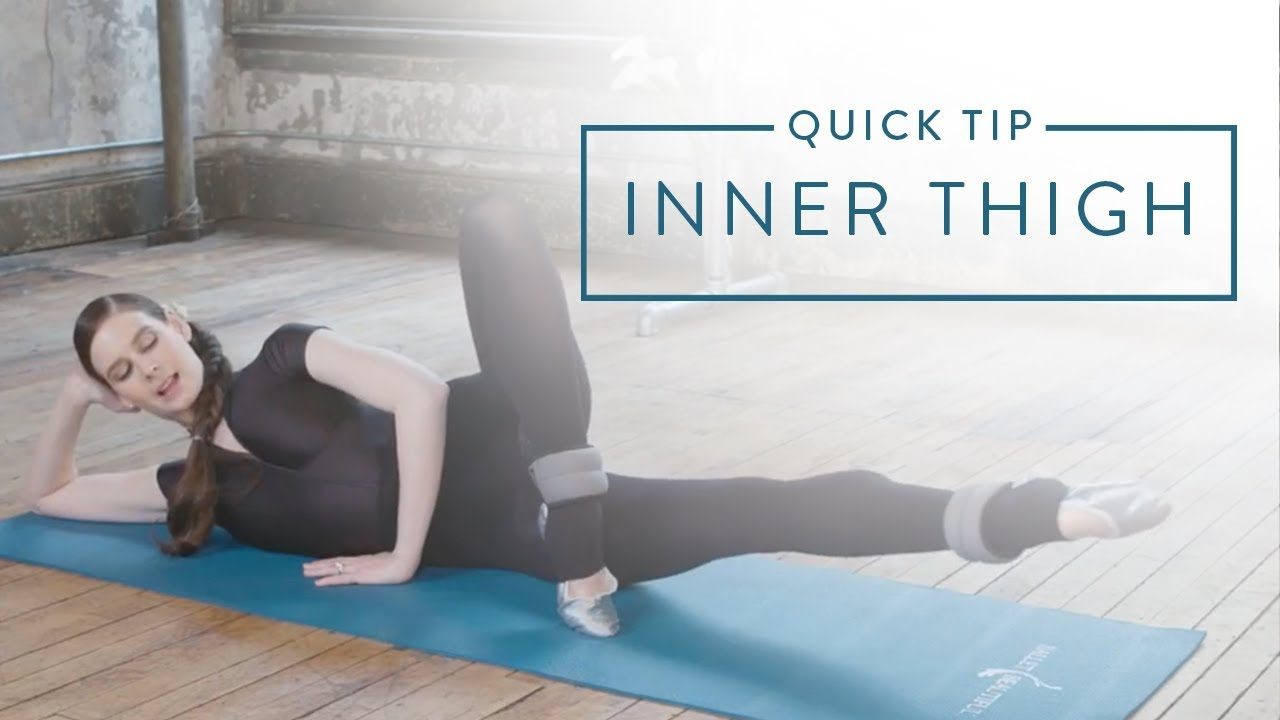 Connect With Your Ballet Muscles Inner Thigh Youtube