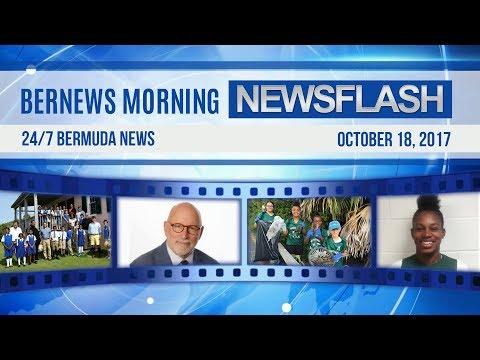 Bernews Morning Newsflash For Wednesday, October 18, 2017