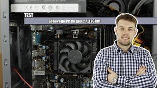 Test komputera z allegro | wydajność, kultura pracy, ocena!