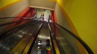 GoPro: Escalator Ski Drop