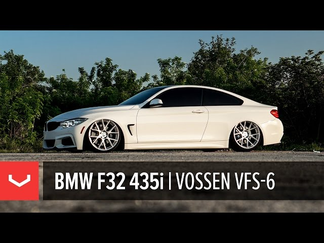 BMW F32 435i Bagged | All New Vossen VFS-6 Utilizing Flow Formed Technology