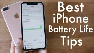 Best iPhone Battery Saving Tricks & Tips! (2020)
