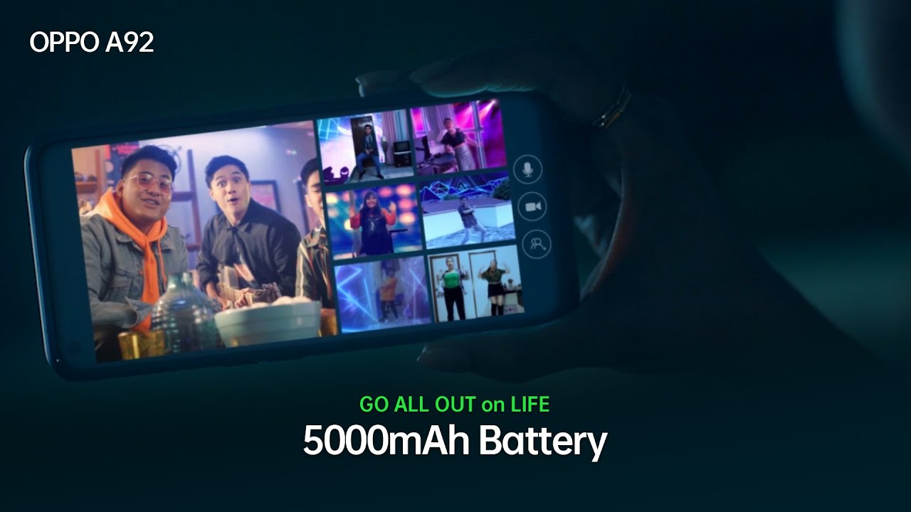 5000mAh battery - OPPO A92 NOW AVAILABLE