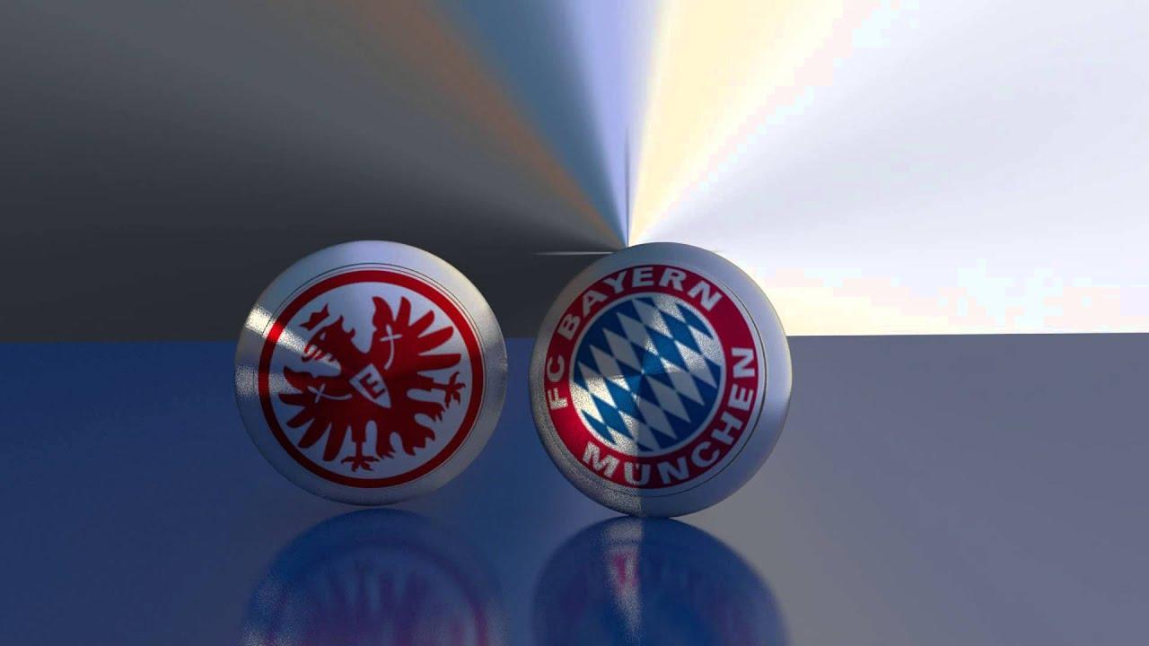 Blender Animation Eintracht Frankfurt Vs Bayern Munchen Youtube