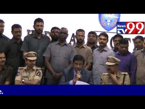 11 Persons Arrested In Credit Card Scam By Hyderabad Police | News Tv 99 |