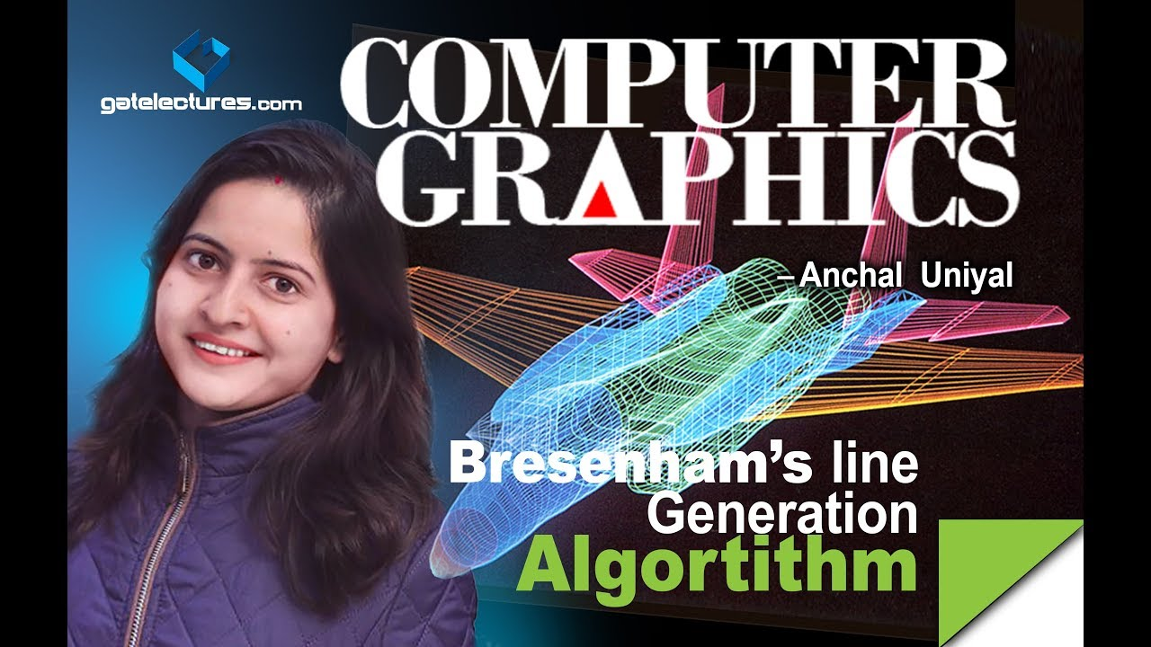 Line Drawing Algorithm Graphics : Bresenham s line drawing algorithm in computer graphics ugc net