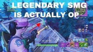 NEW* Legendary SMG Gameplay and Shredding - New Founders Skins - Fortnite Battle Royale