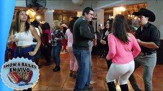 Bailando Fiesta Rancherita Ninoska y Margarita - Prisioneros del Ritmo - Mira y Hasta Siempre amor