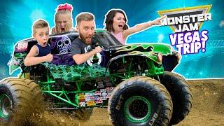 Monster Jam Las Vegas: Family Adventure Vlog!! K-City Family