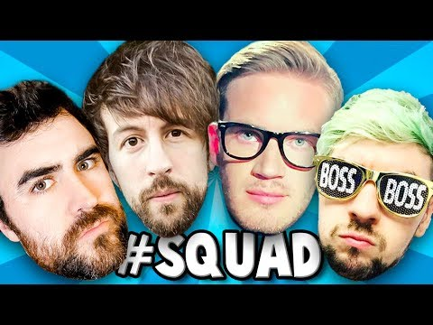THE ULTIMATE SQUAD | PlayerUnknown's Battlegrounds #7 w/ Pewds, Brad & Jack