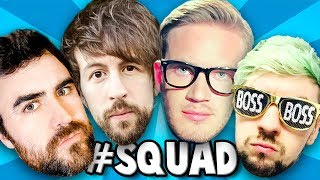 THE ULTIMATE SQUAD PlayerUnknown&#39s Battlegrounds #7 w Pewds, Brad &amp Jack