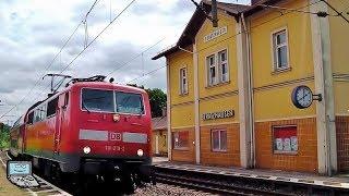 Beratzhausen mit Wiener Lokalbahn Taurus, BR 111 +DoSto, agilis, MRCE 189, DB 185 Sandwich