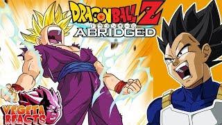 Vegeta Reacts To Dragon Ball Z Abridged: Episode 60 - Part 1 - #DBZA60 | Team Four Star (TFS)