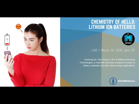 Chemistry of Hello: Lithium Ion Batteries