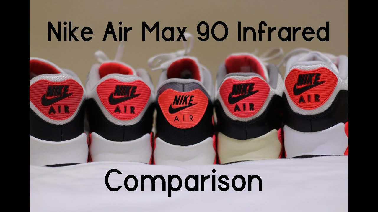 air max 1 90 difference