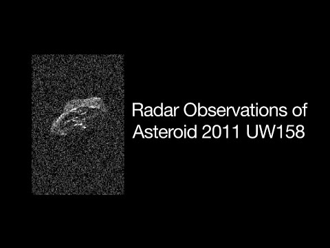 Radar Movie of Asteroid 2011 UW158