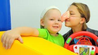 Видео для детей про автобус. Развивающие игры.