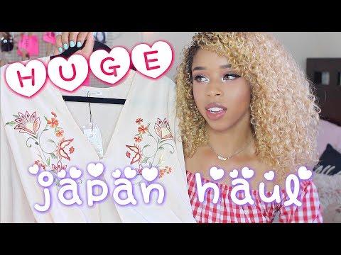 HUGE JAPAN HAUL × J-FASHION TRY ON 🇯🇵 (+Updates!) 日本で買った物