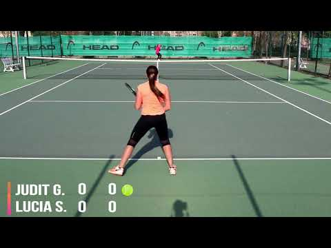 Recruiting video Judit Gonzalez Tennis player fall 18