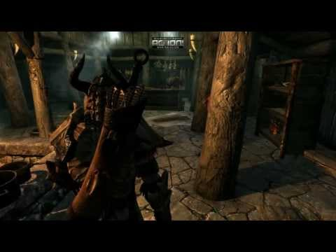 Skyrim Decapitation Montage