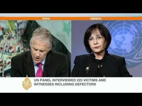 UN says 'crimes against humanity' committed in Syria