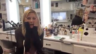 pretty little liars vanessa ray s reaction to being a