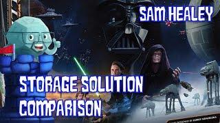 Star Wars: Rebellion Storage Solution Comparison - with Sam Healey