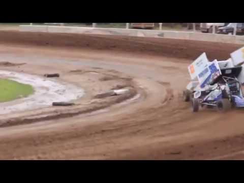 7/27/13 Plymouth Dirt Track   360 Sprint Car Racing