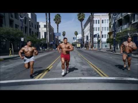 Go Daddy Superbowl Commercial 2014 - Bodybuilders!