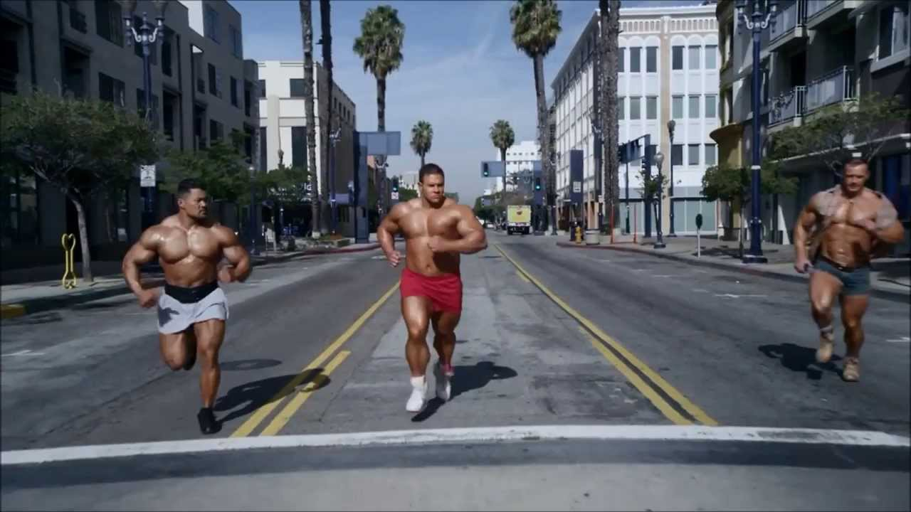 Go Daddy Superbowl Commercial 2014 Bodybuilders Youtube
