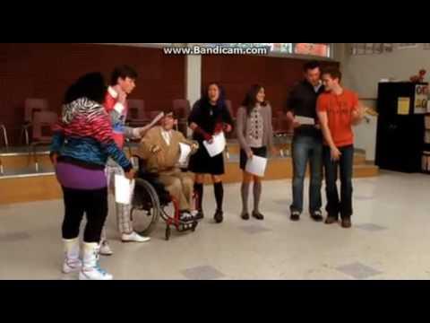 Glee  Gold Digger Full Performance