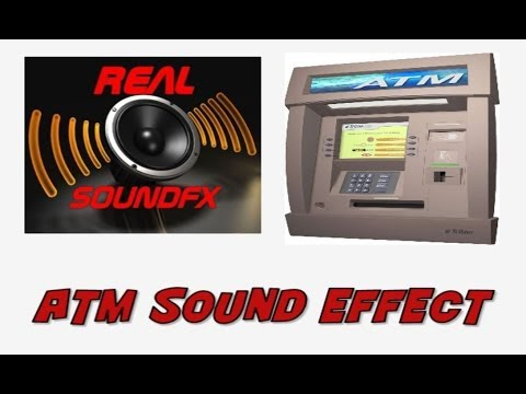 ATM automated teller machine sound effect - realsoundFX