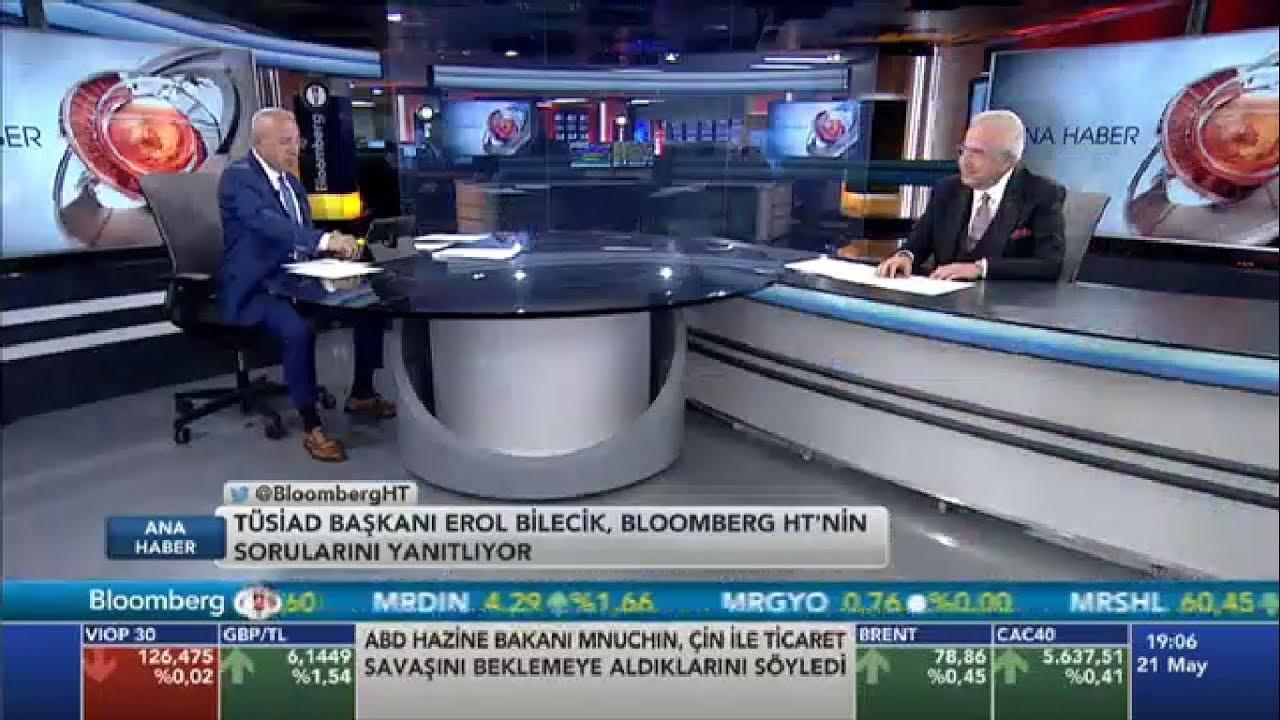 TÜSİAD Yönetim Kurulu Başkanı Erol Bilecik Bloomberg HT Ana Haber Bülteni'ne Konuk Oldu